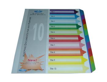 May lanh cu - Chia file nhựa 10 màu