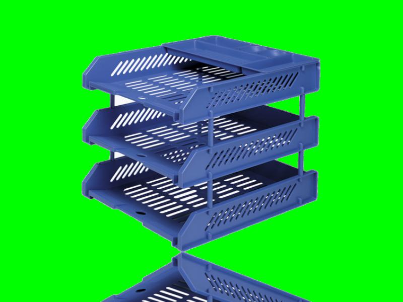 May lanh cu - Khay 3 tầng nhựa Shuter S713