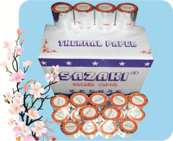 May lanh cu - Giấy in nhiệt SAZAKI - K57