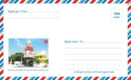 May lanh cu - Phong bì thư