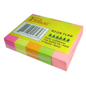 May lanh cu - Giấy phân trang Pronoti giấy 5 màu