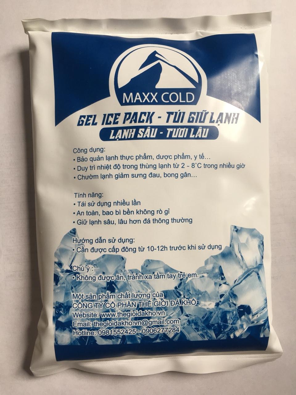 Túi giữ lạnh Maxcold 500 gr