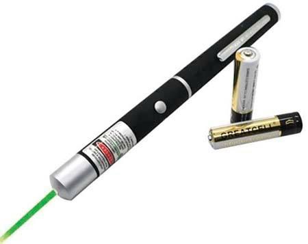 Bút laser trình chiếu, bút chỉ.