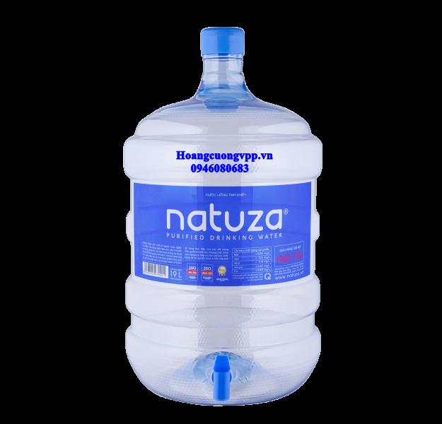 Bình nước tinh khiết Natuza ECO 19L có vòi