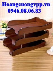 Khay 3 tầng gỗ HX - 5013