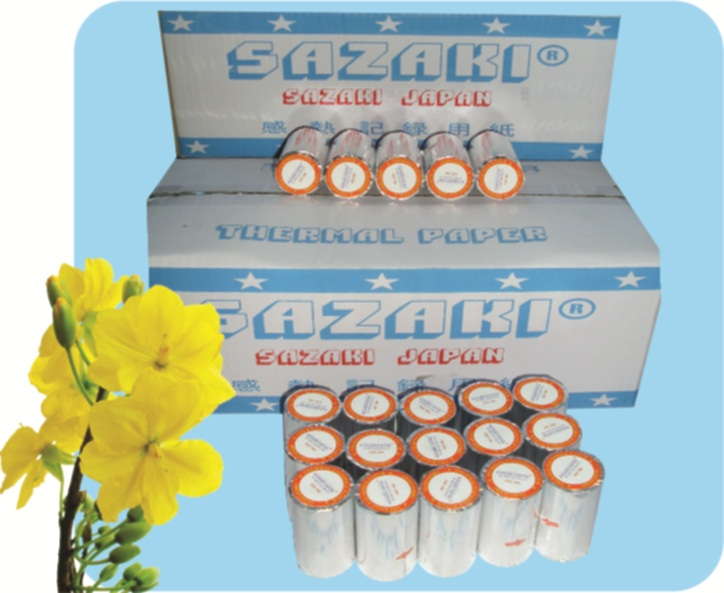 Giấy fax nhiệt SAZAKI - K210